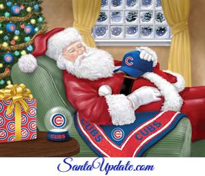 Santa Chicago Cubs