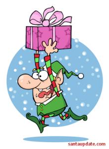 Elves Rush to Get Santa's Sleigh Ready 1