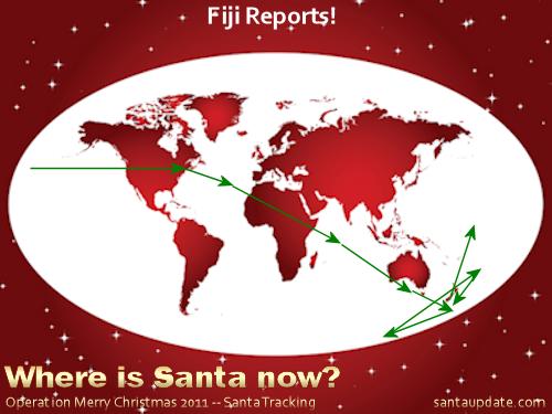 Fiji Reports Santa's Visit 1