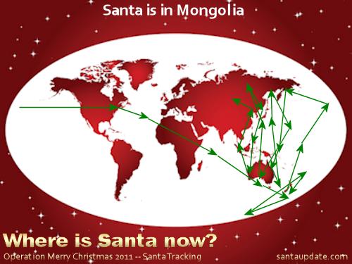 Santa is in Mongolia 1