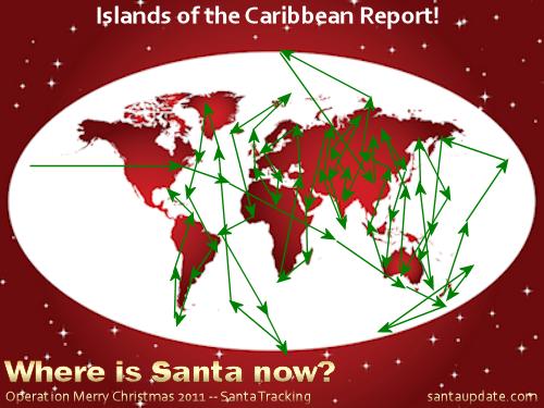 Santa Island Hops in the Caribbean 1