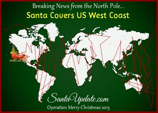 Santa Visits California 1