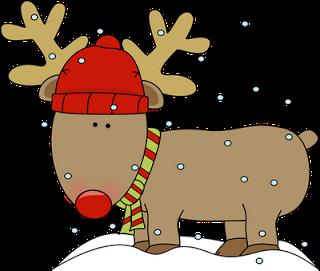 reindeer-in-snow