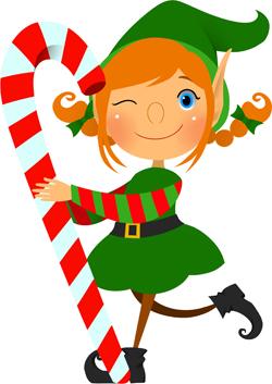 Elf Sandy Claus