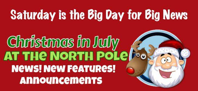 Santa Plans Big Announcement for Saturday
