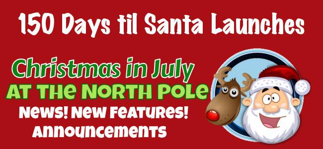 150 Days Until Santa launches
