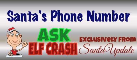 Santa's phone number