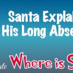 Santa talks