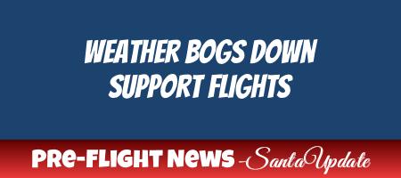 Blizzard Delays Flights at the North Pole 1
