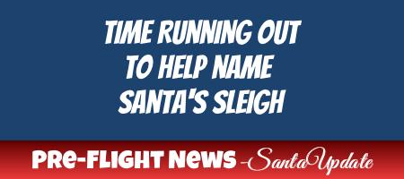 Help Name Santa's Sleigh 1
