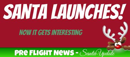 Santa Launches! 1
