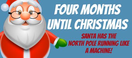 Four Months Until Christmas 1