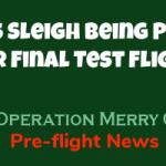 One Last Test Flight of Santa's Sleigh 6