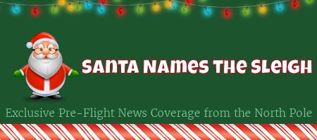 Santa Names the Sleigh 1