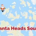 Santa Heads South 14