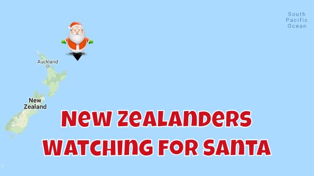 Santa Teases New Zealand 1