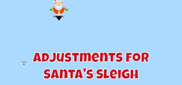 Santa Still Stalled