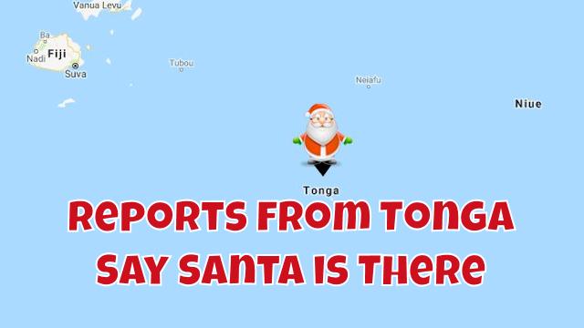 Santa in Tonga 7