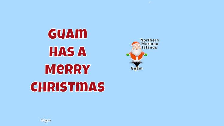Guam Welcomes Santa 7