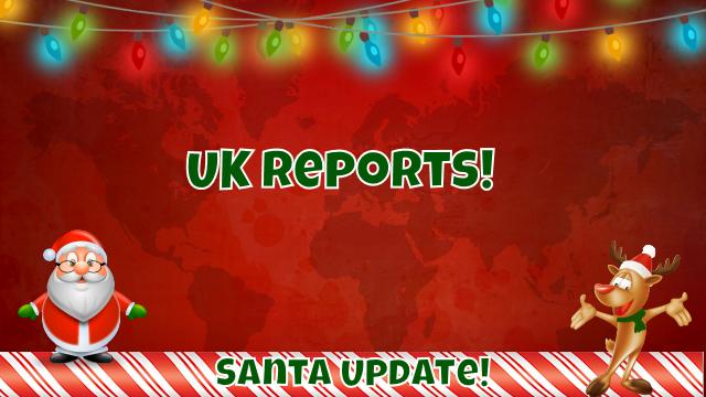 Santa Spotted in London 1