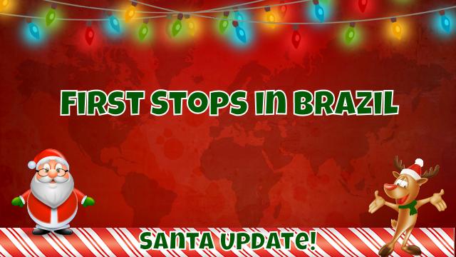 Brazil Welcomes Santa 7