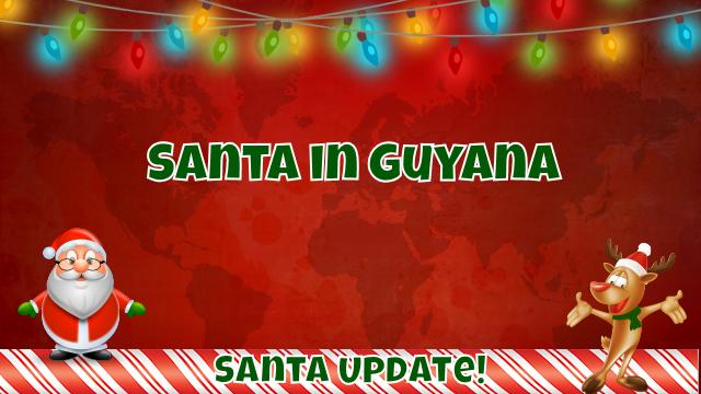 Santa Continues in South America 7