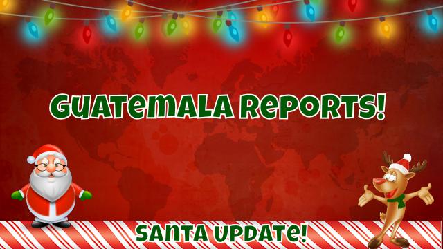 Santa in Guatemala 7