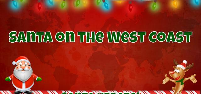 West Coast Celebrates Santa
