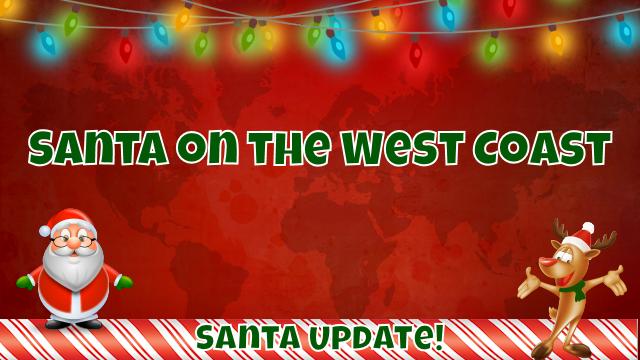 West Coast Celebrates Santa 7
