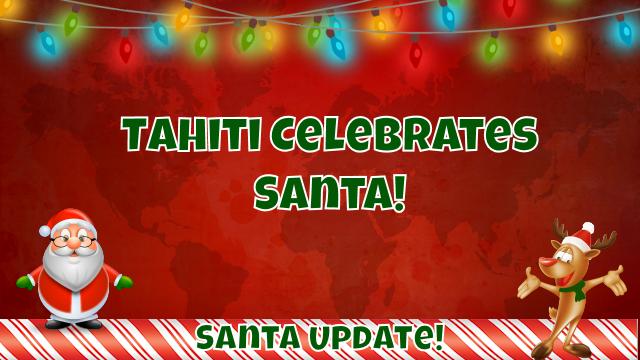 Santa Visits Tahiti 7