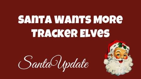 Santa Makes a Plea for More Elves 1