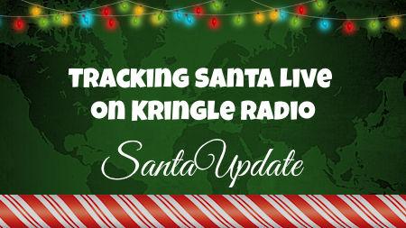 Tracking Santa Show on Kringle Radio Begins 1