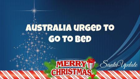 Australia is Put on Santa's List 1