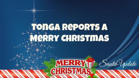 Santa Delivers to Tonga 1