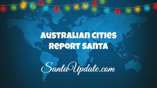 Santa in Australia 1