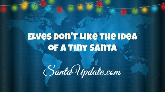 Elves Don't Like Tiny Santa Theory 1