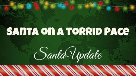 Santa Chasing a New Speed Record 1
