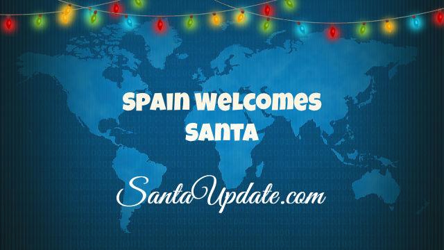 Santa in Spain 1