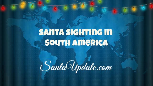 Santa in South America 1