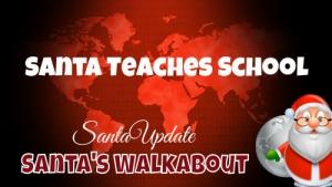 Santa Teaches School