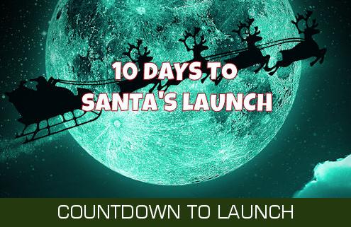 10 Days Until Santa Launches