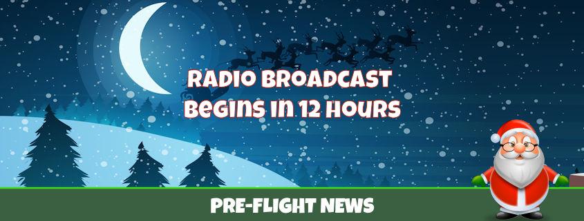 Tracking Santa Radio Broadcast