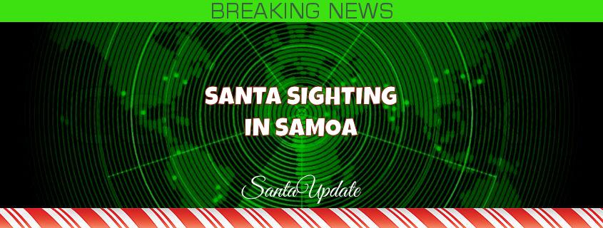 Samoa Sees Santa 1