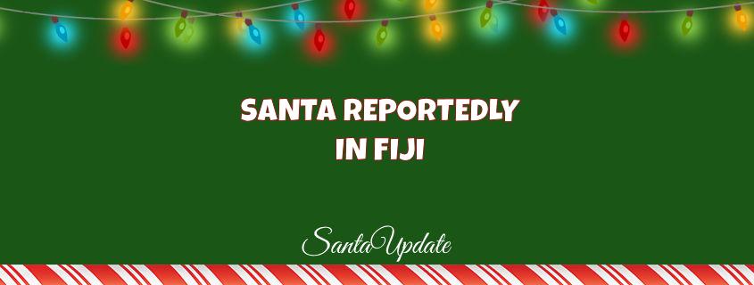 Reports of Santa in Fiji 1