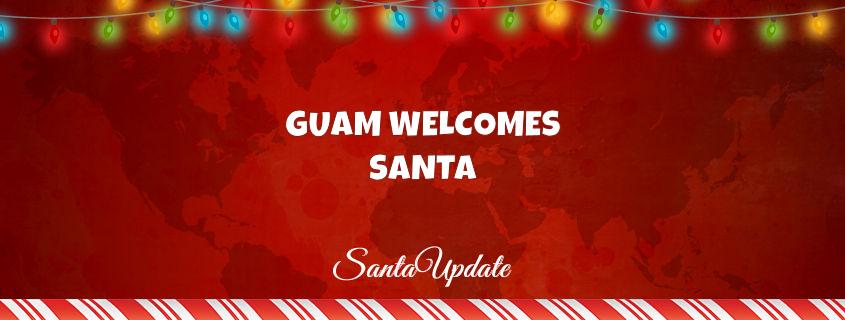 Santa in Guam 1