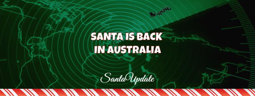 Santa Returns to Australia 1