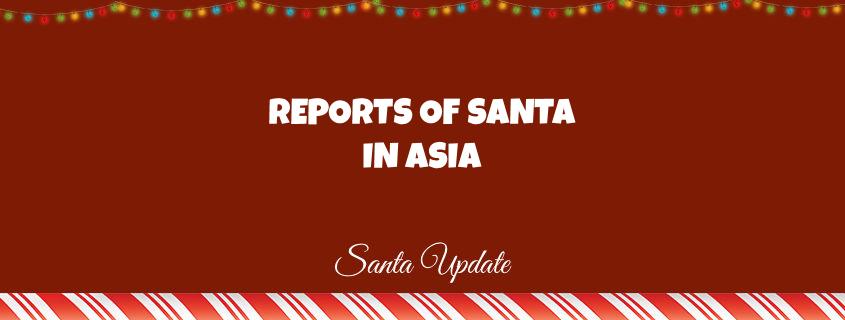 Santa in Asia 1
