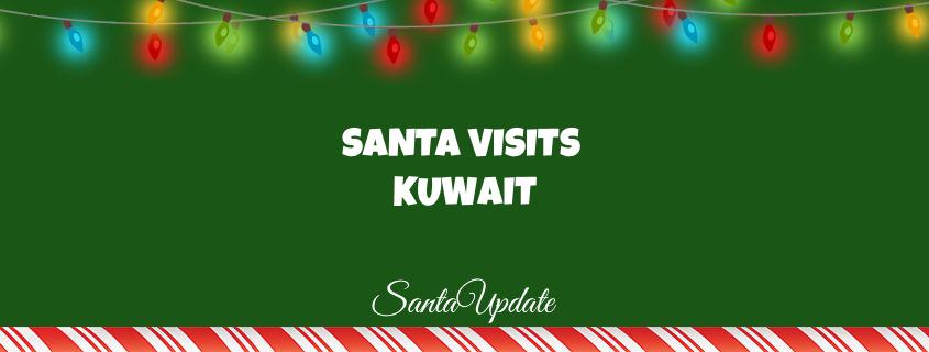 Santa in Kuwait 1