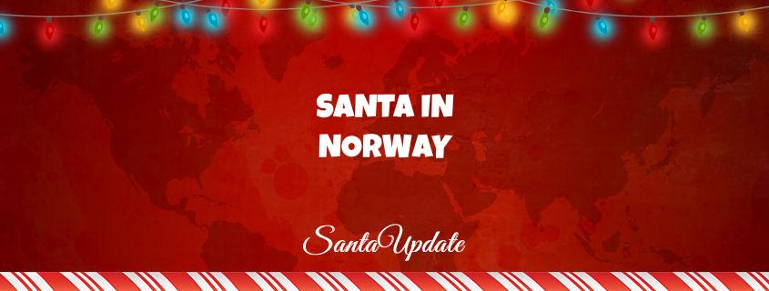 Santa Arrives in Norway 1