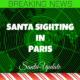 Santa Arrives in France 2